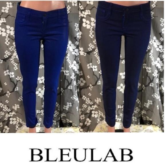 Bleulab Denim - NWOT BLEULAB Reversible Wax Coated Skinny Jeans